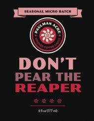 Don't Pear the Reaper - A Carolina Reaper Hot Sauce