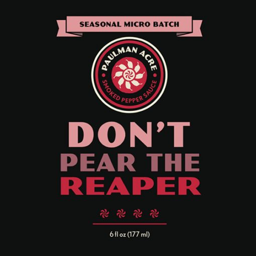 Don't Pear the Reaper - A Carolina Reaper Hot Sauce