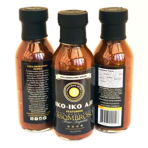 Iko Iko Aji An Asombroso Tequila Hot Sauce Paulman Acre