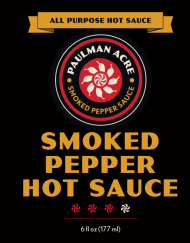 Smoked Pepper Hot Sauce