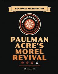 Paulman Acre's Morel Revival - A Morel Mushroom Hot Sauce